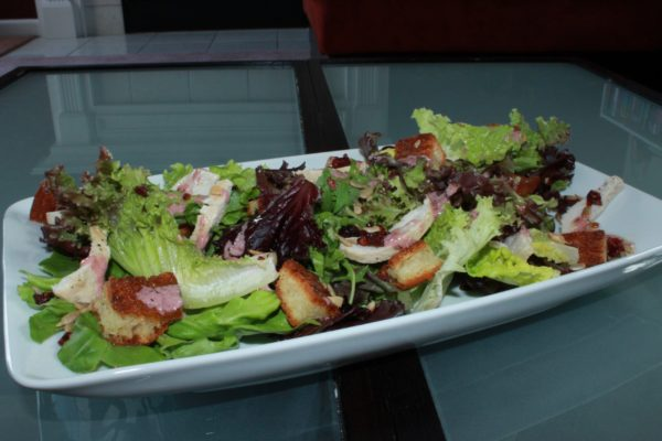 Composed Salad with a Jam Dressing 01 (Copy)
