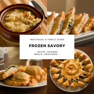 Frozen Savory